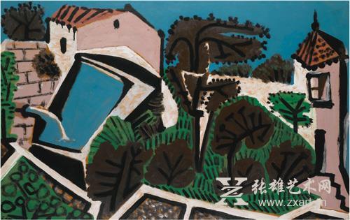 巴布罗·毕加索 《水库》
