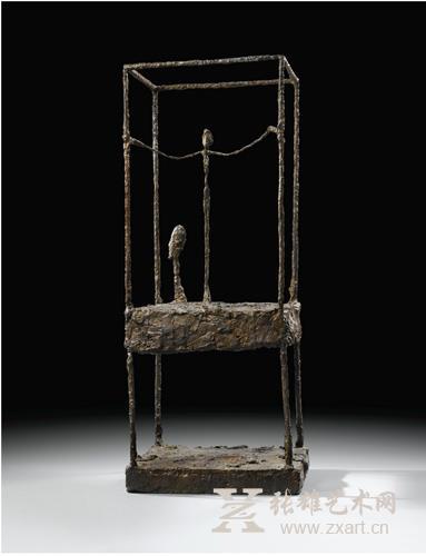 阿尔伯托·贾柯梅蒂 《笼子子》第一版本