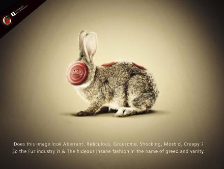 保护动物宣传海报:没有买卖就没有杀害