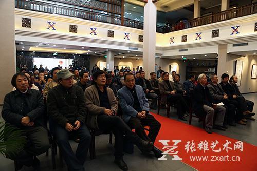 笔墨文心•杨浩石写意国画观摩展在张雄书画院美术馆隆重开幕
