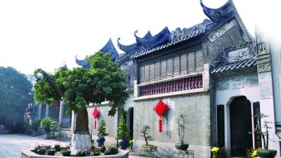 广州余荫山房外景