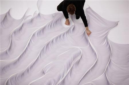 纸雕塑的迷人结构_张雄艺术网