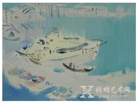 二年级画画美丽大海