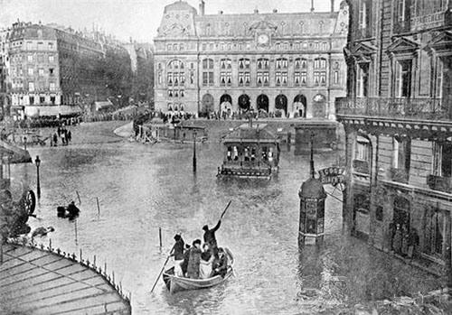 卢浮宫遭到洪水的威胁 紧急闭馆