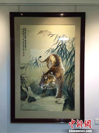 柳建新作品《威震山河》。