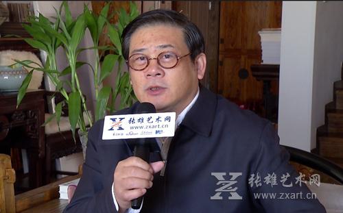中国美协党组副书记、秘书长,张雄书画院院长徐里做客张雄艺术网