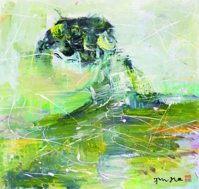 刘佑局绘画作品展:来自中国的幻象旋风