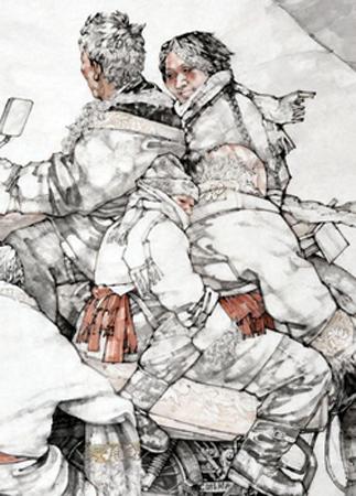 现为甘肃省美术家协会会员,甘肃省青年美术家协会理事,中国书画家网图片