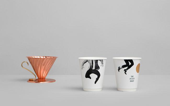The Penny Drop咖啡馆品牌形象VI设计