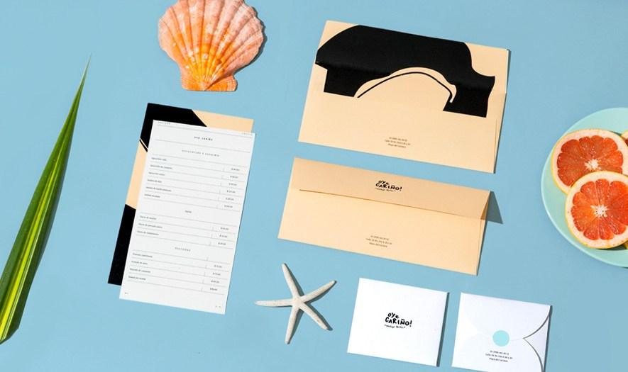 Oye Carino墨西哥海鲜餐厅企业形象设计