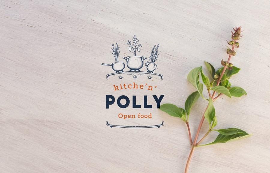 Kitche'n'Polly餐厅形象设计
