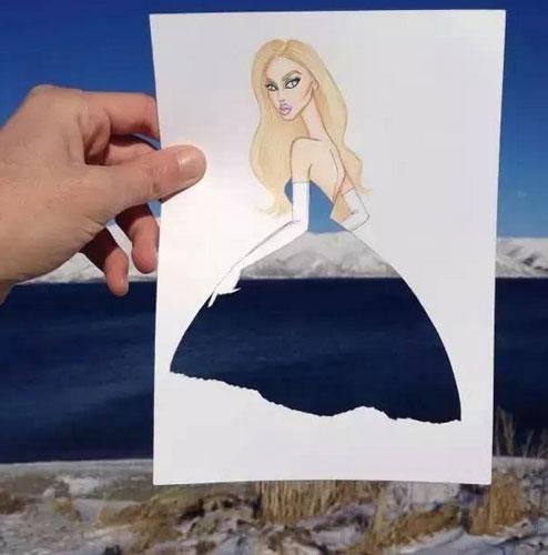 海军军人卡通图片