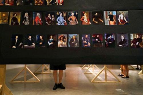 亨德里克・奥尔森的《一些男女同性恋艺术家或是与同性恋文化相关的艺术家,1300-1870》