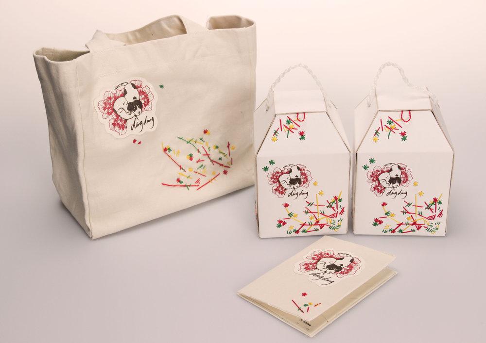 韩国叮当陶瓷包装设计