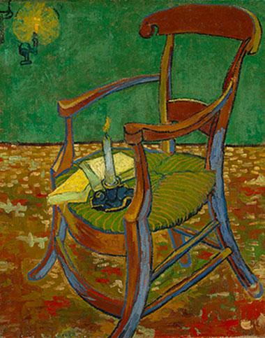 梵高《高更的椅子》