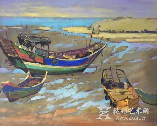 东南亚风景油画家