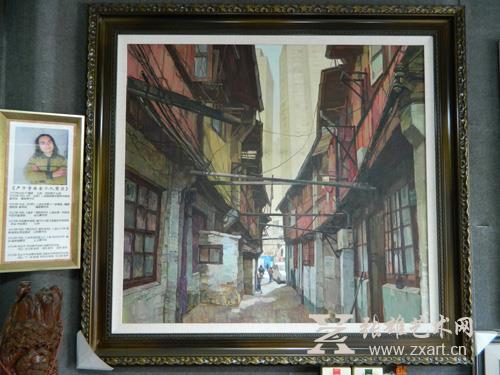 严子宇 《视界》 118x128cm   油画