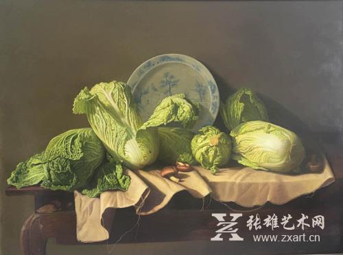 张智远《生命、物语》90x120cm