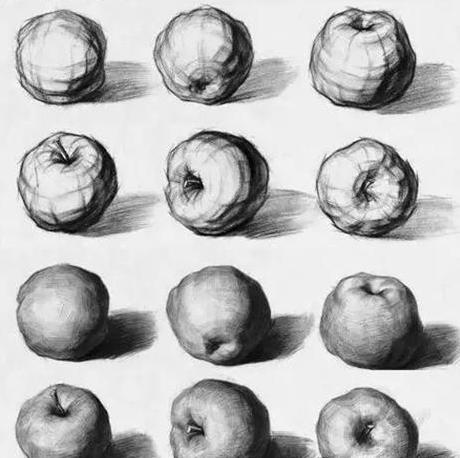 线条苹果图片素材