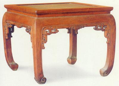 其结构直接吸取了建筑上大木梁架的造法,家具的腿部与房屋立柱一样
