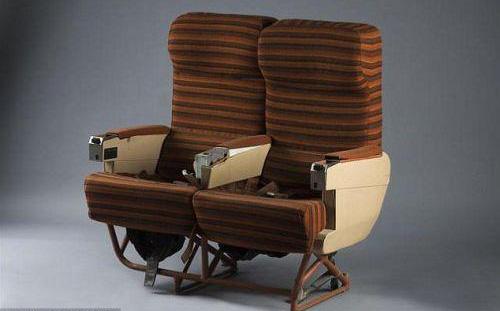 资料图:成套的飞机座椅