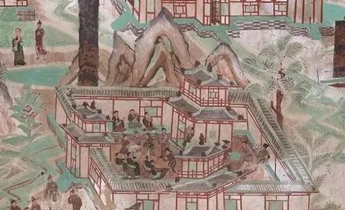 寺院小聚:莫高窟第61窟五台山全图