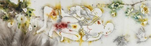 蔡国强《人生四季:秋》(Cai Guo-Qiang,Seasons of Life Fall,2015)