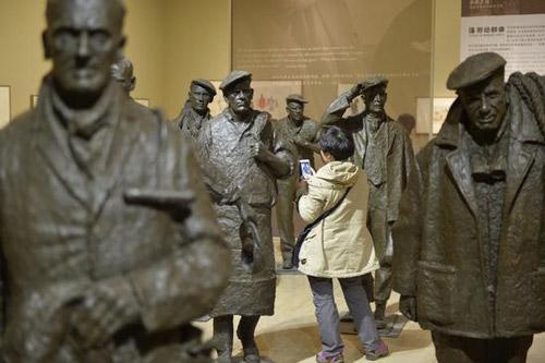 国艺术家司徒安雕塑绘画个展