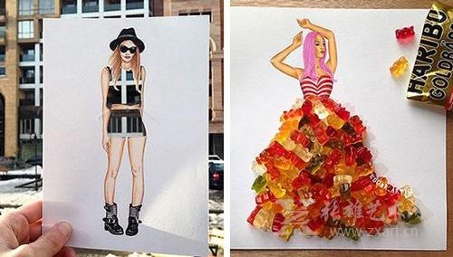 意大利面也能搞服装设计?