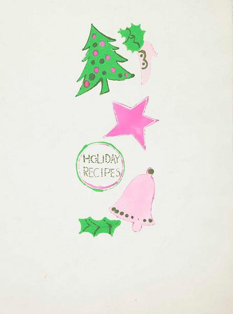圣诞节主题服装设计图彩铅手绘