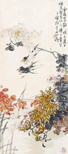 LOT57  陈子奋(1898-1976) 金葆翠蕤1948年作