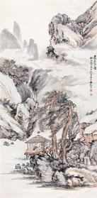 LOT269 冯超然(1882-1954) 岩居高士图1925年作