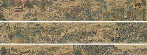 保利华谊(上海)TOP1:明 佚名 《元人秋猎图》成交价:5500万元