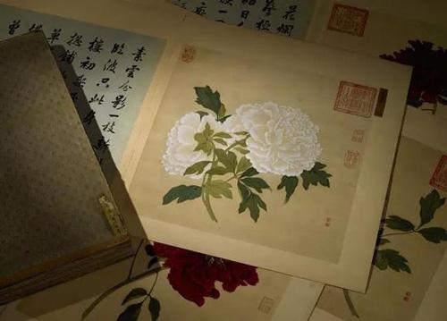 蒋廷锡 百种牡丹谱 成交价:1.7365亿元