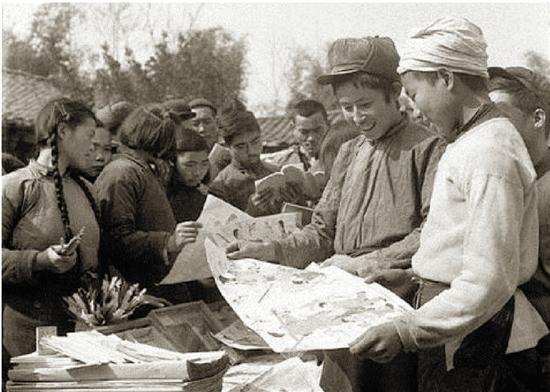 年俗老照片:记录着春节行程和演变