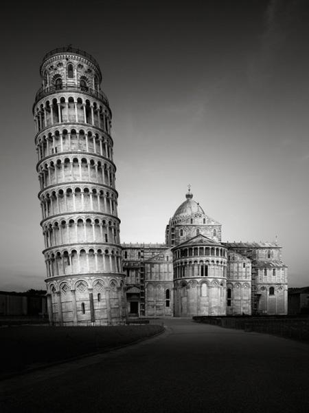 意大利黑白风景