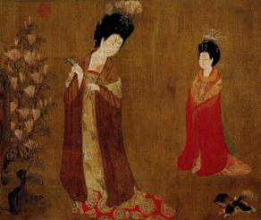 从历代服饰的演变看古代传世名画