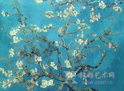梵高《盛开的杏花》