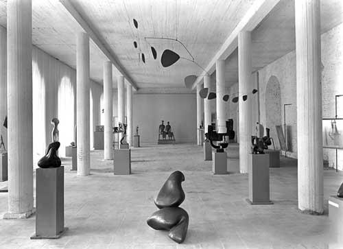 第一届文献展,概览/文献展展厅设计,1955 版权归属文献展资料馆,君特•贝克
