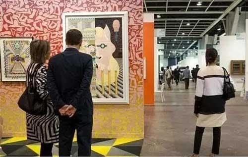 2016年第四届巴塞尔艺术展香港展会现场