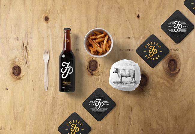 汉堡快餐品牌设计