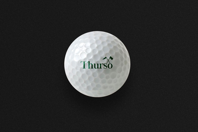 Thurso高尔夫品牌VI设计欣赏
