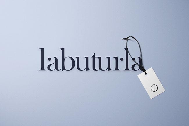 清新风格的labuturla摄影品牌形象设计