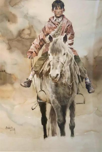 叶献民《牧羊少年》