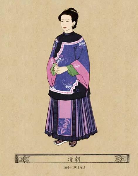 中国古代女子服饰,你喜欢哪款图片