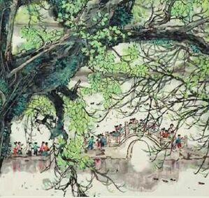 怀念任何时候都可以拿笔画画的林丰俗