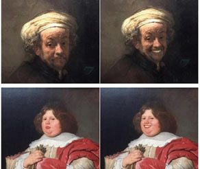 荷兰博物馆艺术品遭P图