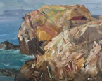 《2017全国油画名家教授惠安小岞写生作品展》作品选登