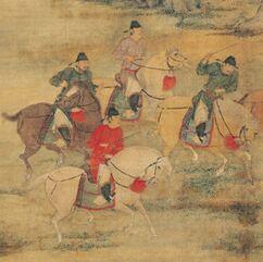 从中国传统国画看古代丰富多彩的体育运动