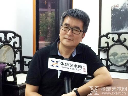 张雄艺术网广州分站团队走访高剑父纪念馆及春睡画院并采访了馆长李琰